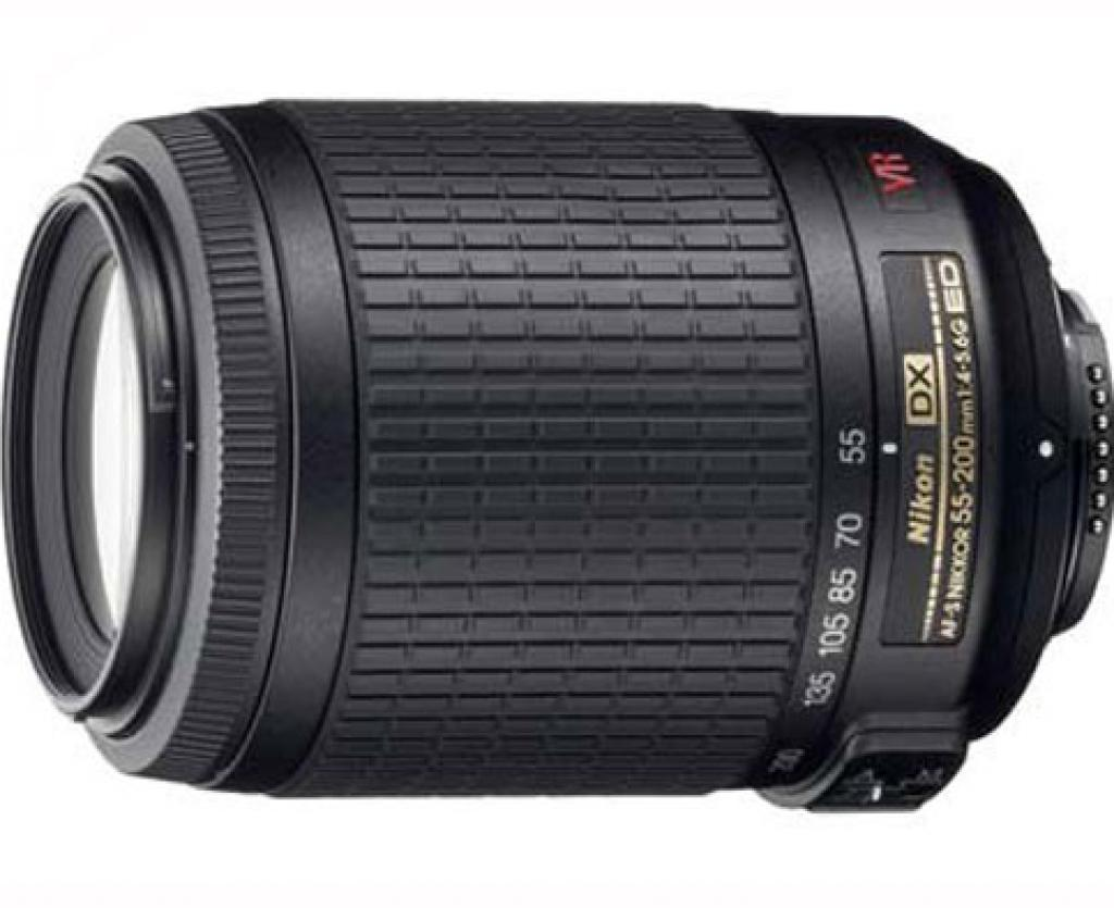 لنز نیکون Nikon 55 - 200mm f/4 -5.6G DX VR