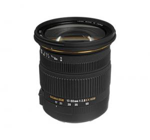 Sigma 17-50mm f/2.8 EX DC OS HSM - Canon Mount