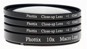فیلتر لنز کلوزآپ Phottix Filter Close-up Set 77mm