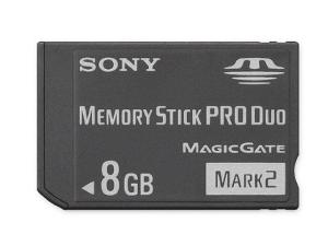 Sony Memory Stick Pro Duo - 8 GB